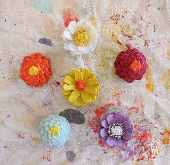 pinecone-flower-refridgerator-magnets-04
