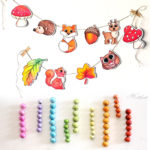 These beautiful garland crafts are easy to make too! It's full of fun garland ideas for autumn and year round.