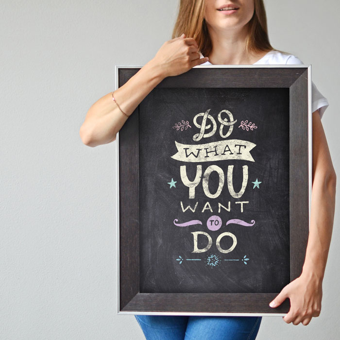 How to Make Your Own DIY Wall Art (plus free printables)