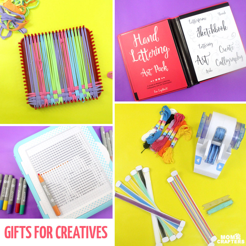 These cool gifts for creatives are perfect for the creative adults, kids, and teens in your life! #christmas #birthdaygift #giftideas