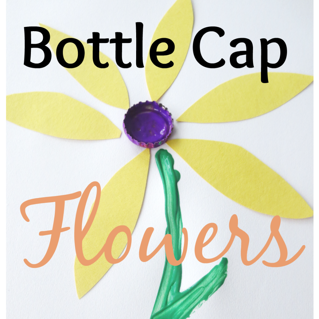 Bottle cap crafts 18 unique diy ideas for kids and adults for How to make bottle cap flowers