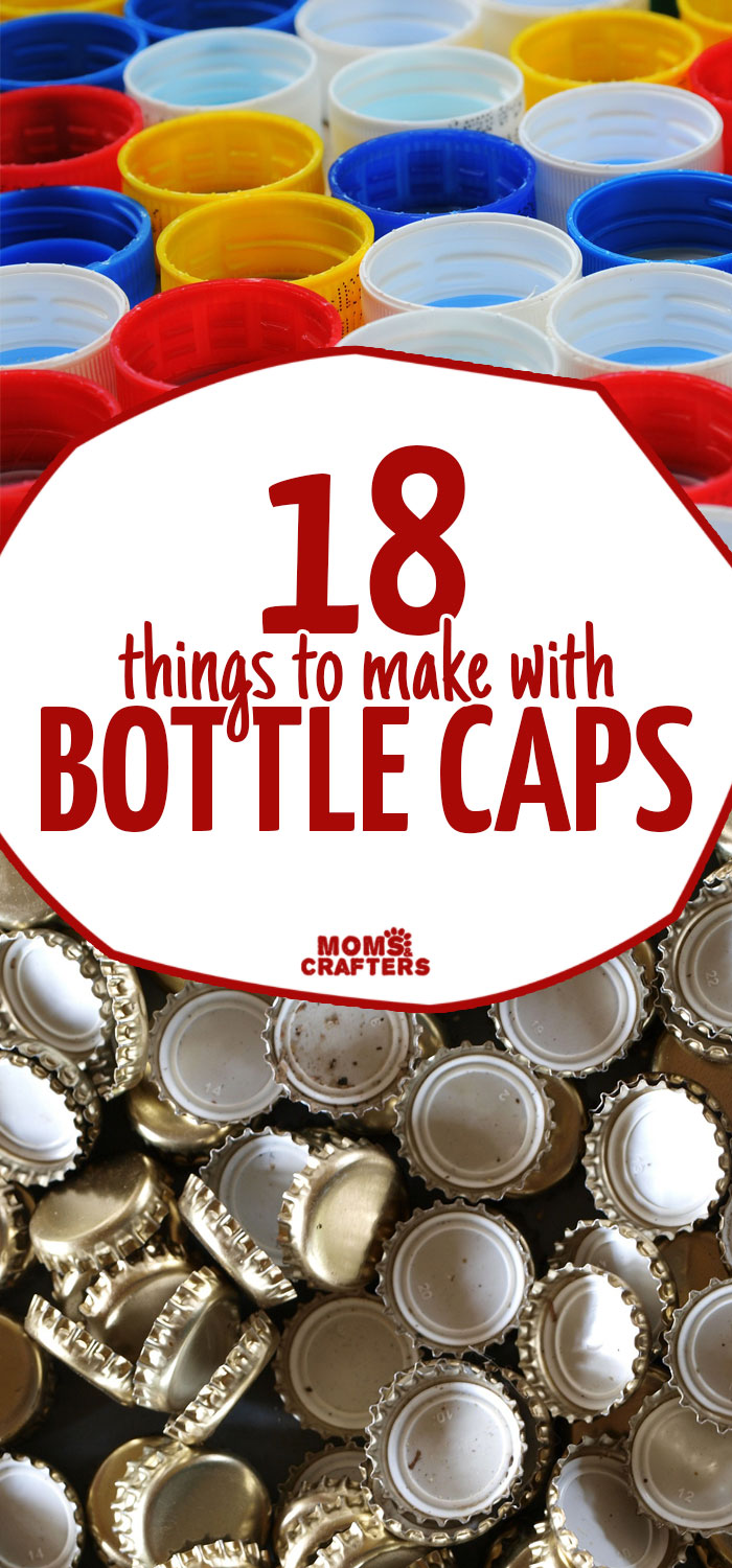 Plastic Bottle Cap Craft Ideas
