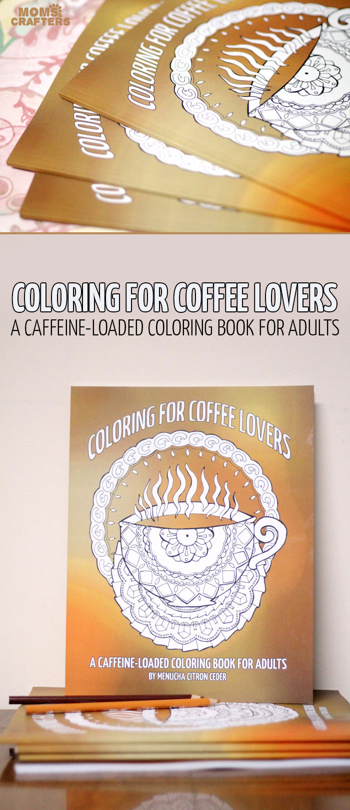 Who else can't function until they've had their coffee? Yeah, that's me. I love this coffee coloring book for adults - one of my favorite grown-up colouring book, full of coffee coloring pages for adults!!