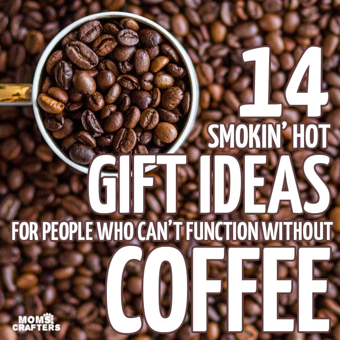 14 unique and failproof gifts for coffee lovers - I haven't yet found that coffee IV drip but these awesome coffee gift ideas will do! I want every single thing on this list, no jokes.