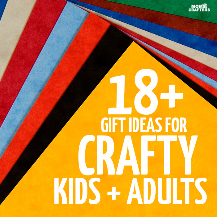 Got any creative people on your gift lists? These 18 gifts for crafters are perfect for kids and adults, and of course teens. You'll find plenty of ideas for budget-friendly and generous holiday gifts for Christmas or Hanukkah, or anytime you want to treat a crafty friend.