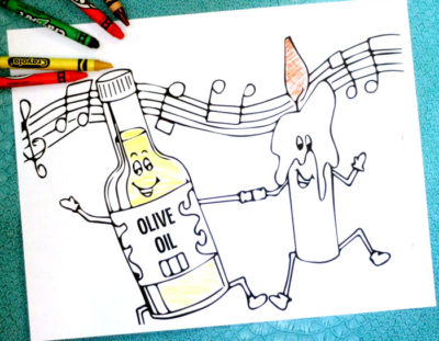 Free Printable Hanukkah Coloring Pages for Kids for Chanukah