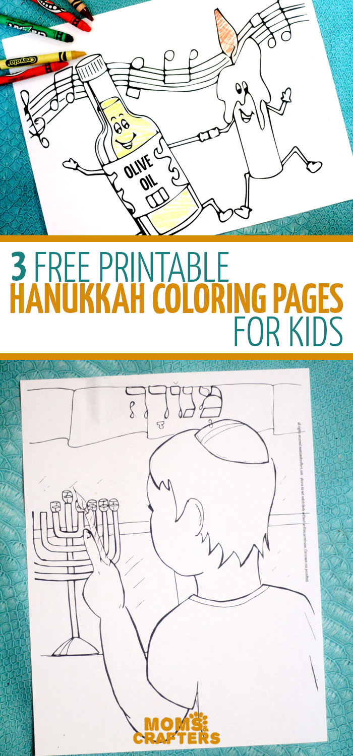 free printable hanukkah coloring pages for kids chanukah activity