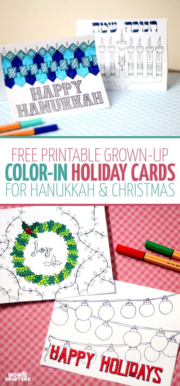 Free Printable Holiday Cards adult