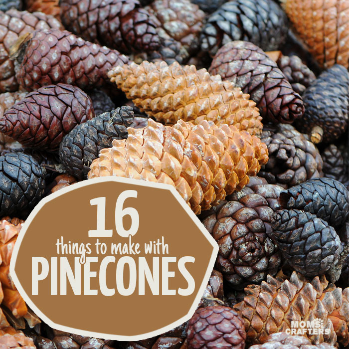 Pinecone Crafts S Moms And Crafters