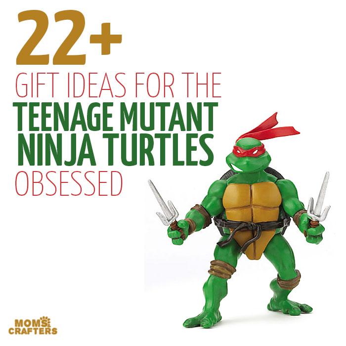 22 Teenage Mutant Ninja Turtles Gift Ideas - Moms and Crafters