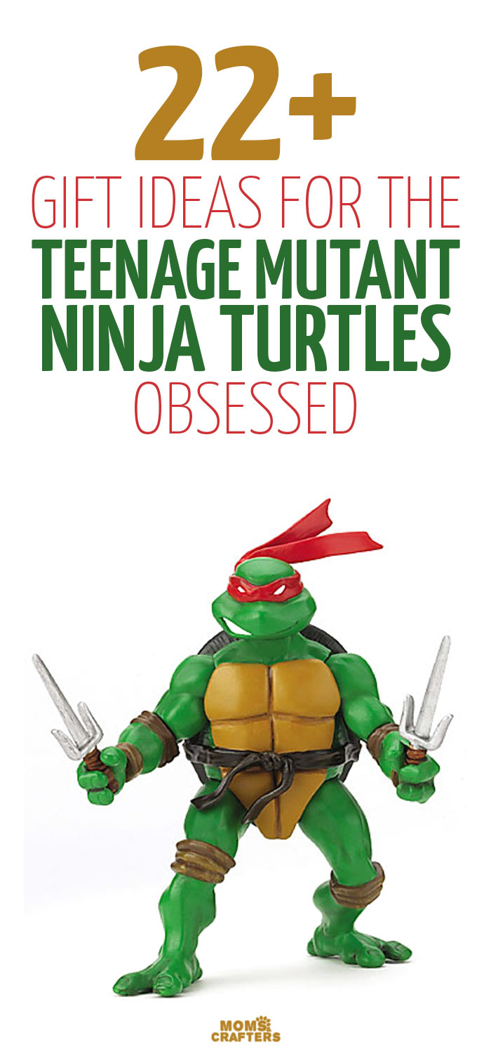 If you have a TMNT fan who's having a birthday, or is on your holiday gift list, these 23 Teenage Mutant Ninja Turtle gift ideas are about to make your gift hunt a whole lot easier! These are great gifts for teens and tweens too!