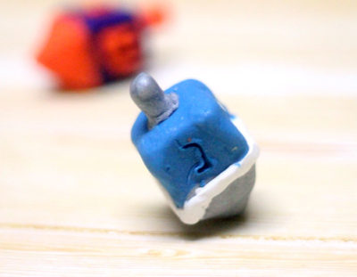 How to Make a Dreidel out of Clay