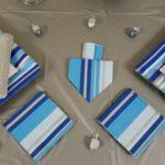 Dreidel Napkin Fold for Hanukkah