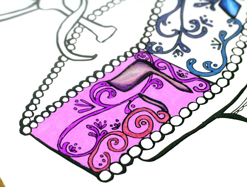 Finally - Hanukkah coloring pages for adults - I love these! I think I'm going to put these out at my Chanukah party next week. IT's a great activity for teens and tweens too who love adult colouring pages