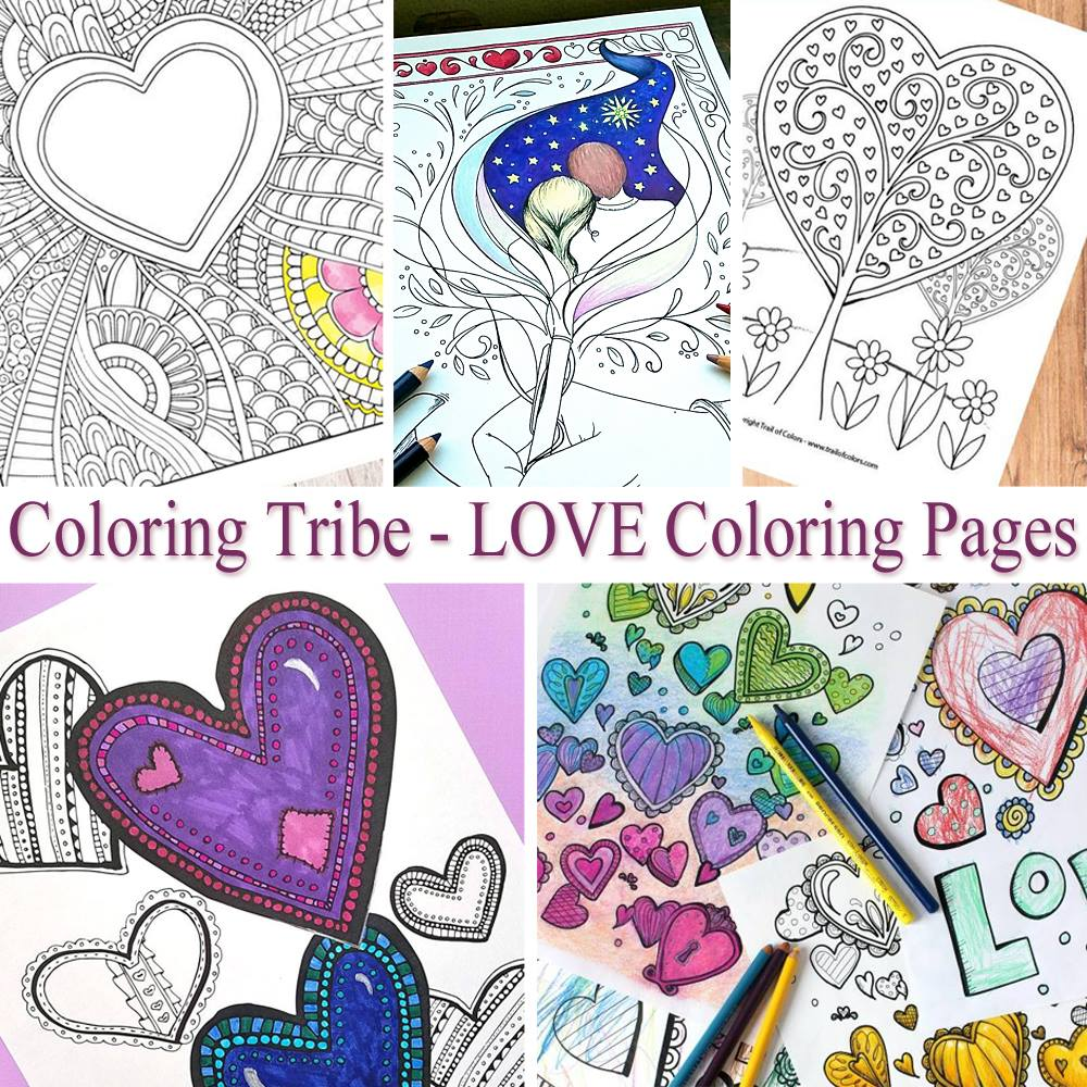 Get free printable adult coloring pages every month!