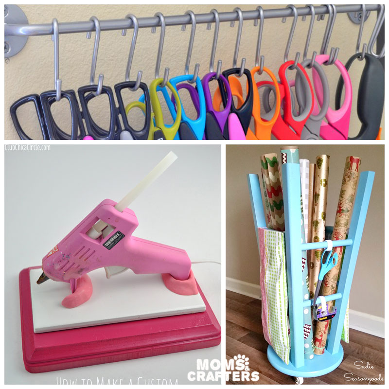 Diy Organization Part - 41: There Are So Many Wonderful And Creative Ideas Out There To Keep Your Craft  Room Organized. Did You Use Any Of These Ideas? Do You Have Any Craft Room  ...