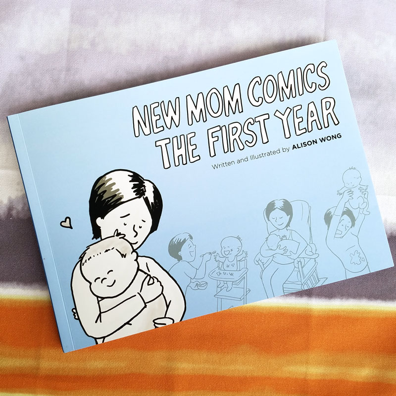 Hilarious comics on motherhood in the first year