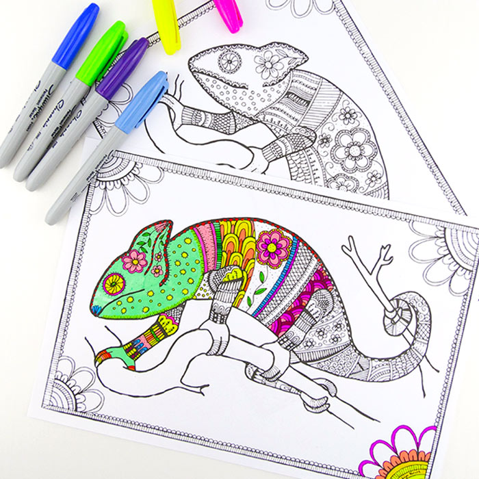 Grab Some Animal Printables And Unwind With These Free Animal Coloring Pages  For Adults! You