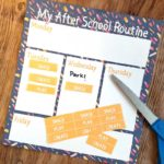 Free Printable After School Routine Planners