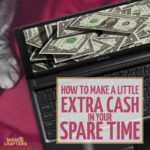 Looking for small tips for how to earn money online? These 4 easy ideas are good for everyone to do as a side hustle to earn that extra pocket cash so you can splurge! These ideas are great legitimate online jobs for stay at home moms who have a little extra time. I've been in that position and decided it's time to share some ideas!