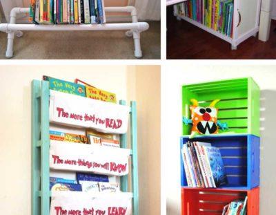 Kids Book Storage Hacks