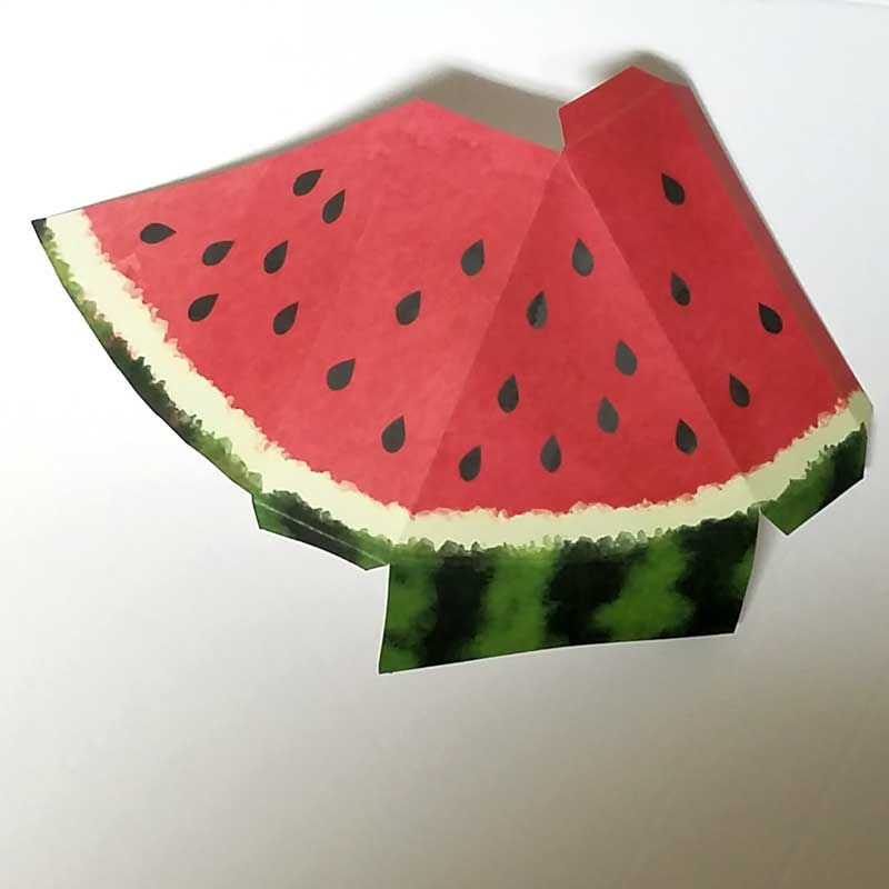 Paper Craft Templates for Play Fruit: Watermelon - Moms ...