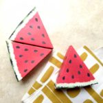 Paper Craft Templates for Play Fruit: Watermelon