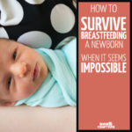 They told me it would come naturally, but it really didn't... I wish I'd read this survival guide for breastfeeding a newborn before I tried! These breastfeeding tips are so valuable, and coming from a fellow mom, it's relatable, and amazing parenting tips for new or pregnant mothers...