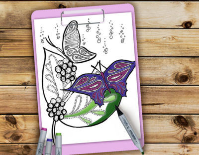 Butterflies Coloring Pages – Free Printables for Adults