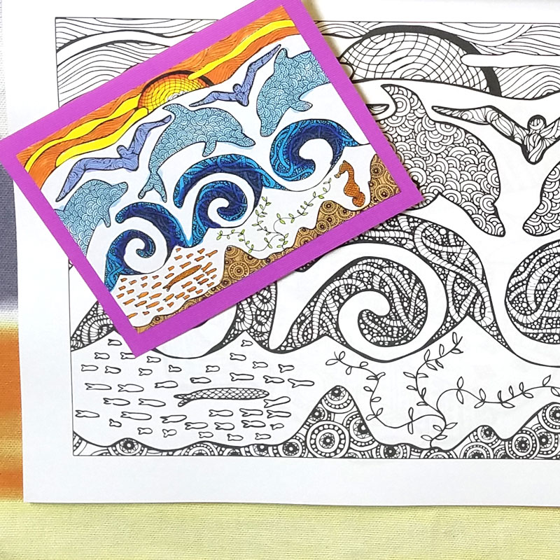 I Love These Beautiful Scenic And Travel Coloring Pages For Adults