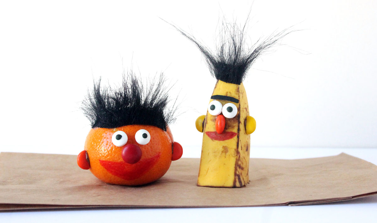 bert and ernie snacks that are super healthy too