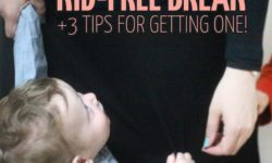 When was the last time you had a kid-free break? Do you prioritize your own sanity? These motivating parenting tips will help you take care of yourself, becaue the occasional kid-free break is basic self-care for moms. These simple tips will teach you the trick to getting a break from your children.