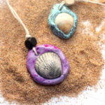 Seashell Necklace – an easy clay jewelry craft!