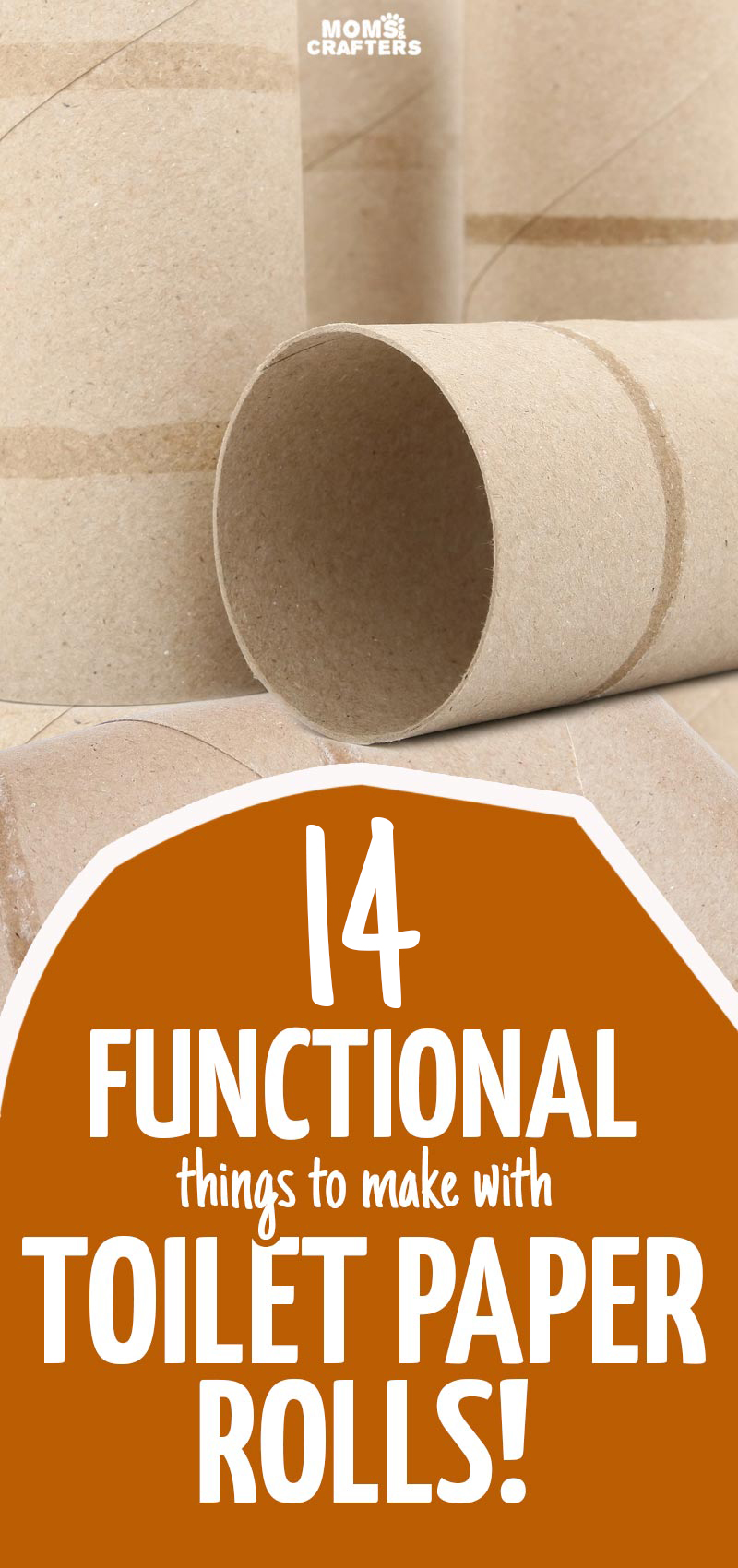 14 toilet paper roll crafts easy functional ideas moms and youll love these fun and functional toilet paper roll crafts because why not jeuxipadfo Choice Image