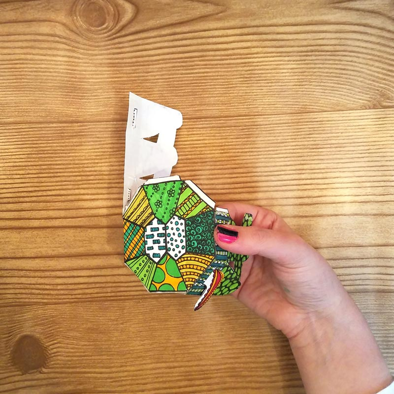 Print this free printable turtle template coloring page for adults - you'll love to color and craft this DIY turtle paper craft for kid, teens, and adults. Use it as a DIY paper toy, or as a treat box.