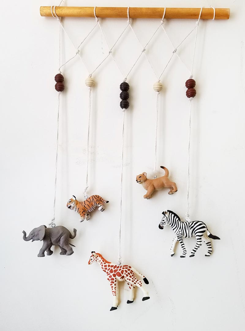 Animal Wall Hanging For The Playroom Or Nursery Moms And