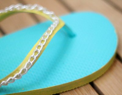 DIY Flip Flops – a Dollar Store Upgrade!
