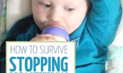 If you're struggling with stopping breastfeeding, read these parenting tips to help you get over the emotional disconnect you might feel. These mom to mom tips and solutions will help you when you decide to stop nursing your baby.