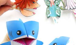 I love paper toys - you can really refresh them frequently, and then recycle them when you're done. These free printables for play make awesome paper crafts for kids and adults and provide so much pretend play opportunities too!