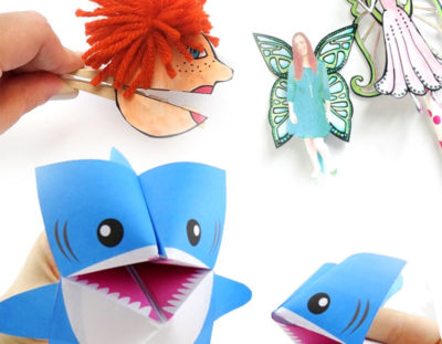 14 Free Printable Paper Toy Templates to craft and play!