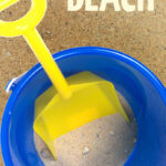 Click for fun family games and activities to play at the beach - including fun ideas for summer fun and easy activities for toddlers, preschoolers and kids