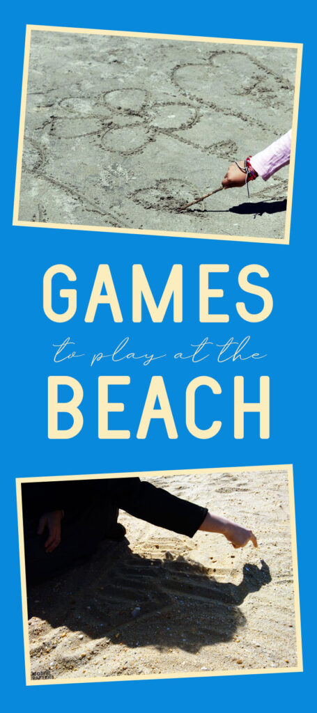 Play games at the beach and enjoy these outdoor activities that are great for cooler days too!