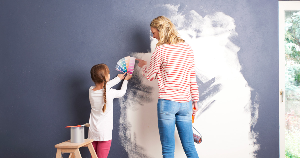 Take on a home decor project with kids - here's why! Decorating with kids can be a hands-on educational experience that can help them unplug and disconnect from their devices for a change.