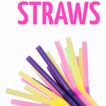 The ultimate list of straw crafts for kids and adults! These ideas for things to make with straws are cheap and easy and a great way to repurpose materials you already have.