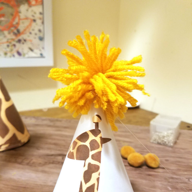 Giraffe Birthday Hat Free Printable And Craft Moms And