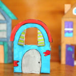 Paper Houses – Free Printables to Color and Play!