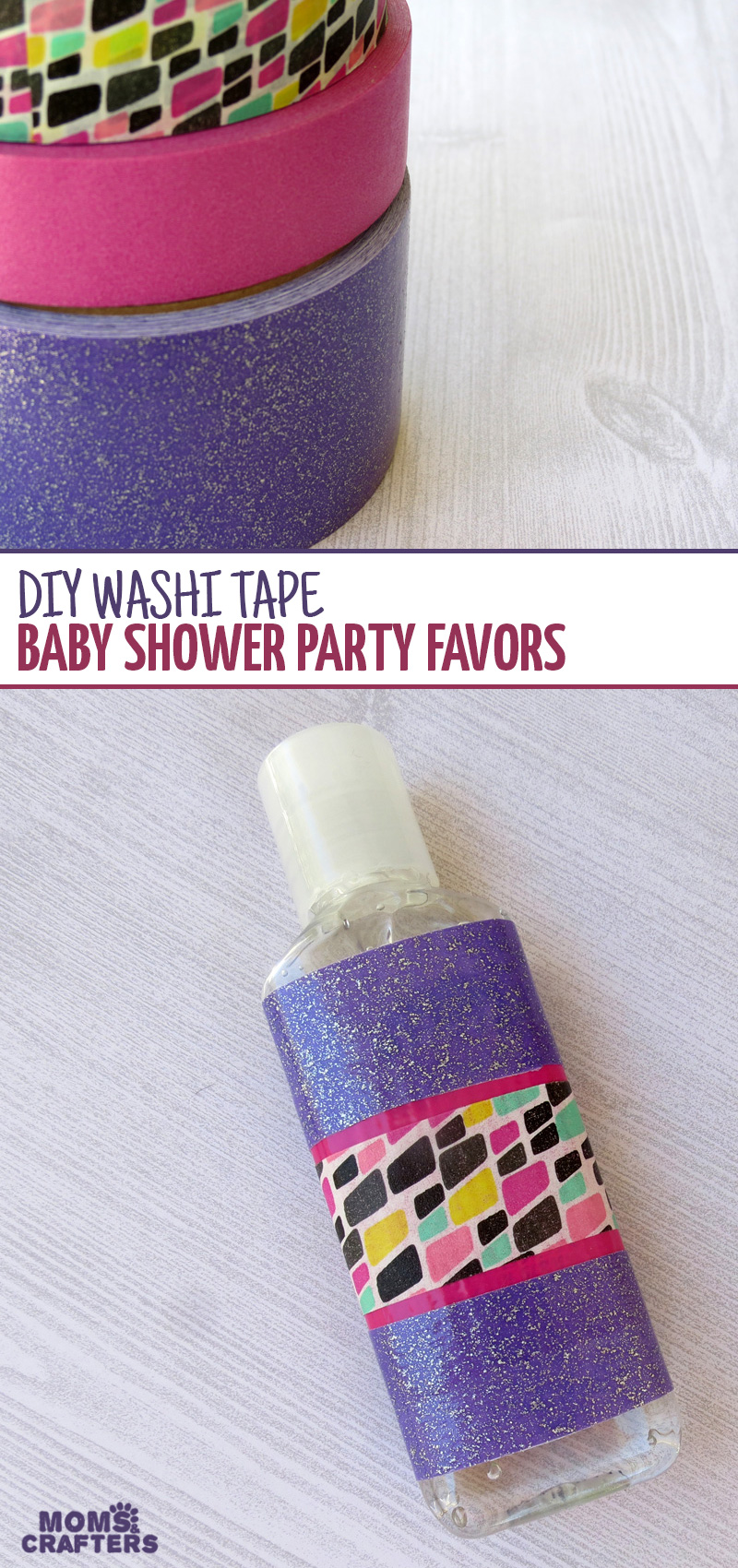 Why Washi Tape Bomb A Hand Sanitizer Bottle, You Ask? These Make The