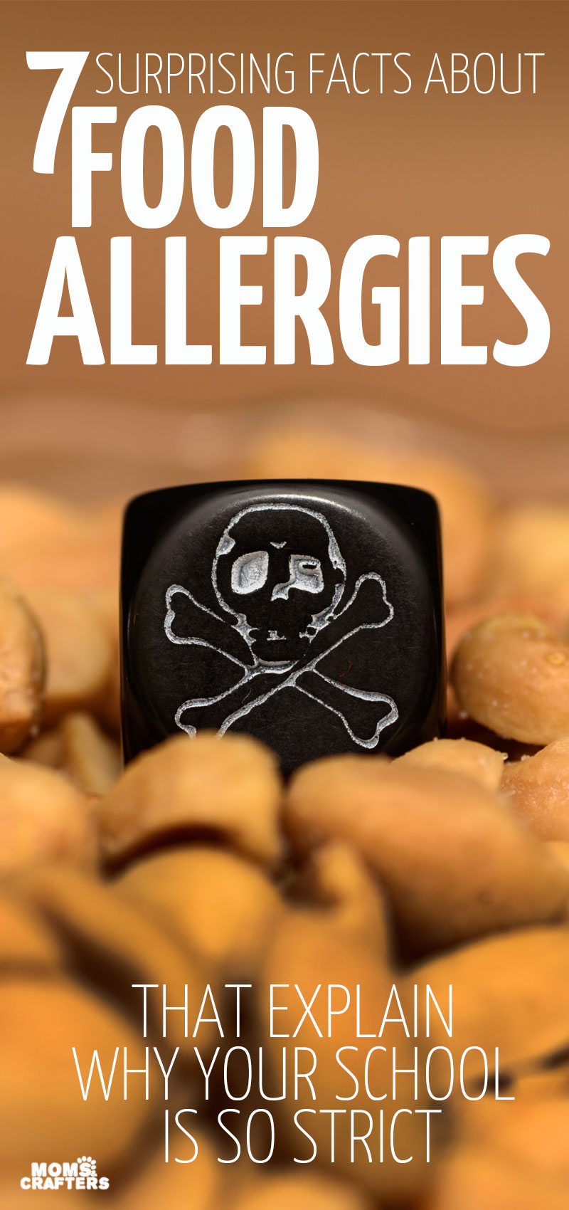 What's the deal with school rules and food allergies anyway? Why no traces? Help spread some allergy awareness by sharing this post which highlights the severity of many food allergies, airborne reactions and anaphylaxis, peanut allergies, tree nut allergies, and more important allergy facts!