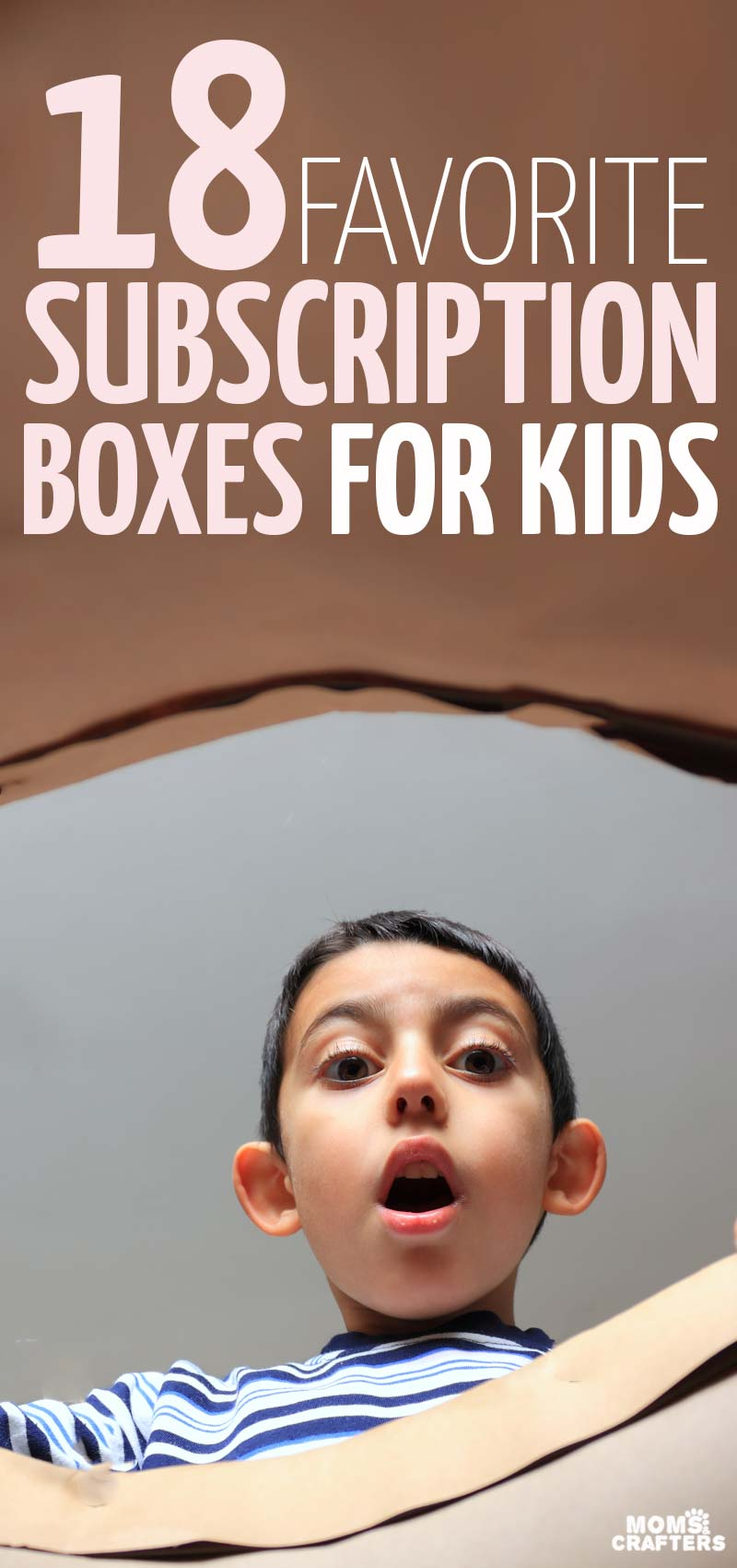 You'll love these awesome ideas for subscription boxes for kids - including books, toys, clothing, and other non-toy gift ideas for babies toddlers preschoolers - and even teenagers! These holiday gift ideas are great for birthday gifts too and year round - because they keep on giving! They include gifts for crafters too! #giftideas #christmas #gifts