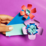 Paper Flower Bookmarks